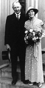 Mattsson med hustru Lilly