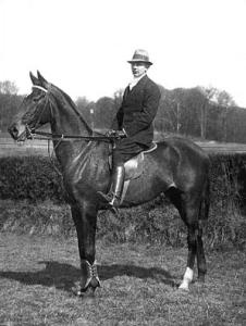 Axel Mattsson til hest
